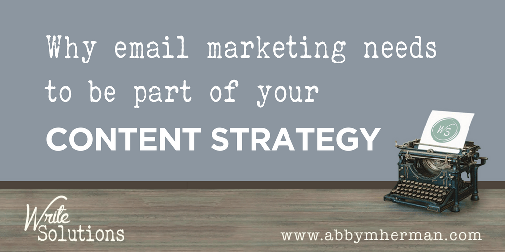 Email Marketing Content Strategy