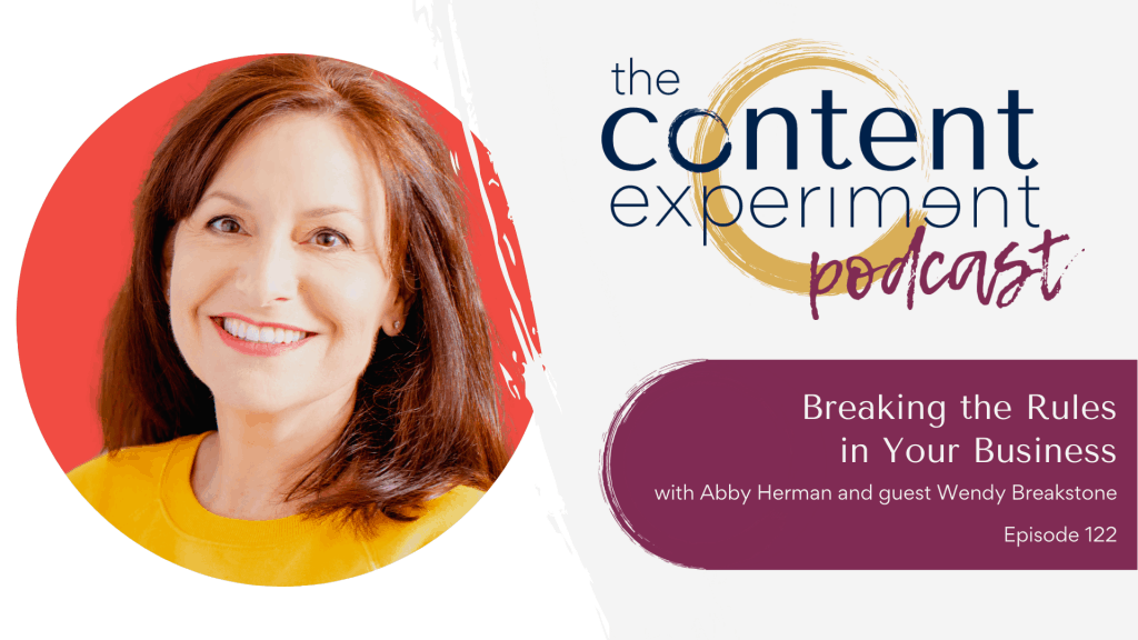 virtual summit, digital marketing, Wendy Breakstone, The Content Experiment Podcast