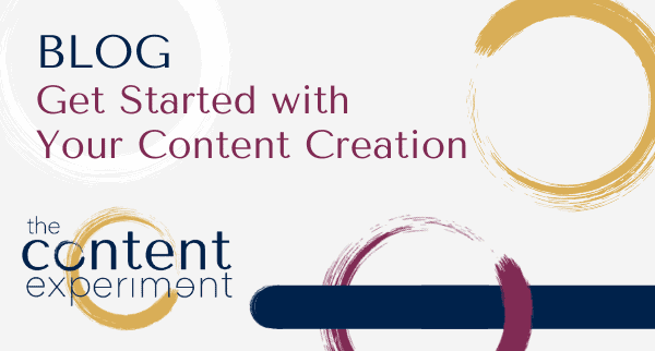 get started with content creation