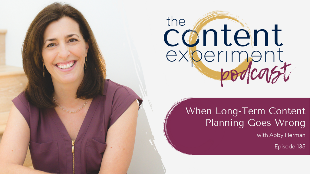 When Long-Term Content Planning Goes Wrong